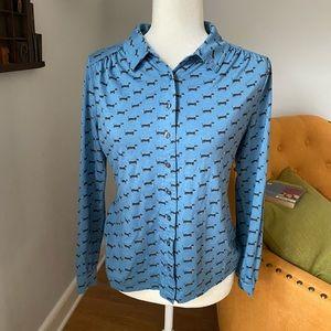 Dachshund Boden Dog Print Shirt